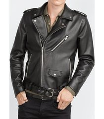 new handmade mens biker jacket, mens fashion black leather jacket,