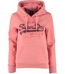 hoodie sequin roze