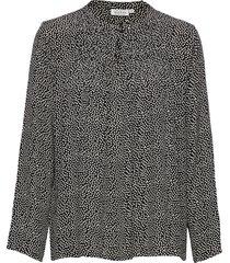 barus top blouse lange mouwen zwart masai