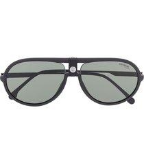 carrera pilot sunglasses - black