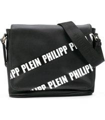 philipp plein junior bolsa com logo - preto