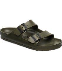 arizona eva shoes summer shoes sandals grön birkenstock