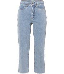 jeans capri in cotone biologico (blu) - rainbow