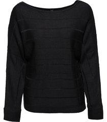 maglione con cerniera decorativa (nero) - rainbow
