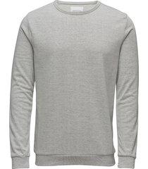 enno o-n ls 7057 sweat-shirt trui grijs samsøe samsøe