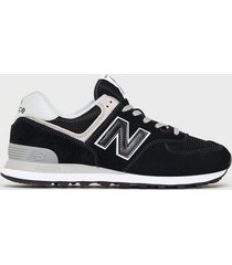 new balance ml574egk sneakers black