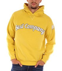sweater best company hoodie fleece sweatshirts mens geel