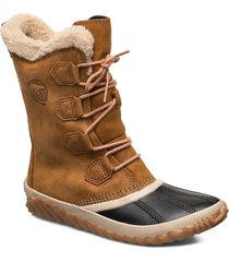 out n about plus tall shoes boots ankle boots ankle boot - flat brun sorel