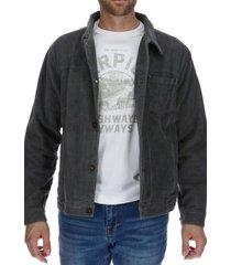 chaqueta foundation mixed jacket algodón gris cat
