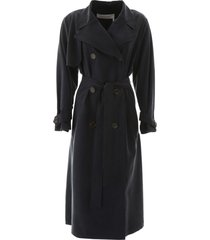 see by chloé long trench coat