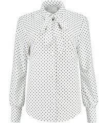 helena hart 7251 mini-blouse trix strik wit