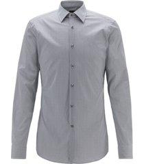 boss men's t-carl navy shirt