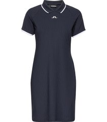 april golf dress korte jurk blauw j. lindeberg golf