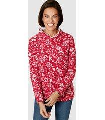 fleece trui paola rood::wit