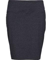 penny skirt kort kjol blå kaffe