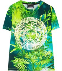 young versace t-shirt with tropical press