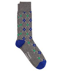 travel tech mini argyle dress socks, 1-pair