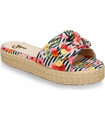 sandalias multicolor bata waltypa r mujer