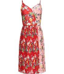 abito plissettato (rosso) - bodyflirt boutique