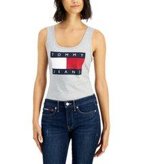 tommy jeans flag logo bodysuit