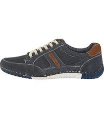 sneakers roger kent marinblå::brun