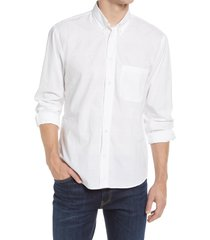 men's billy reid tuscumbia standard fit button-down shirt, size large - white