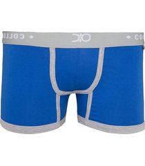cueca boxer glam dionisio collection azul - kanui