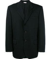 comme des garçons pre-owned loose fit blazer - black