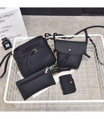 bolsos de mujer,bolso bandolera, hombro de borla de-negro