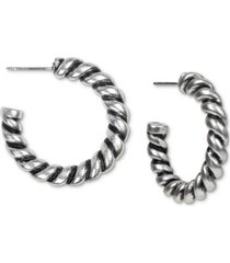 patricia nash medium hoop earrings, 1.25""