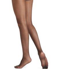 hue women's ultra sheer back seam tights hosiery