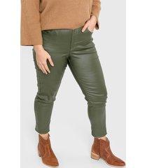pantalón verde vindaloo vilna engomado