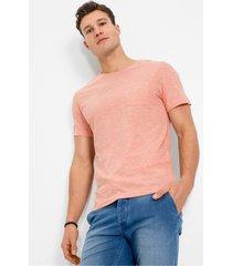 t-shirt met borstzak, slim fit