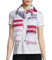 enku striped scarf