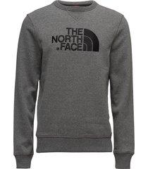 m drew peak crew sweat-shirt tröja the north face