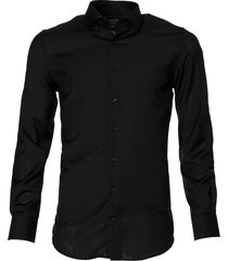 jac hensen premium overhemd - slimfit - zwart