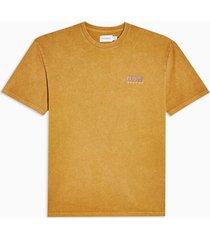 mens yellow mustard copenhagen t-shirt