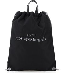 tote bag backpack with logo embroidery