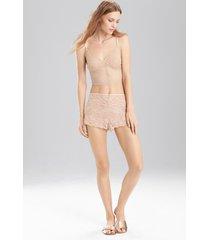 sashay tap shorts, women's, beige, size s, josie natori