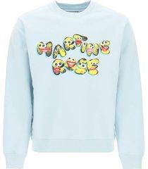 martine rose graphic print sweatshirt