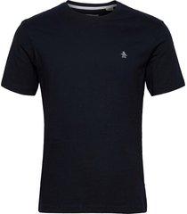 small logo short sleeved t-shirt t-shirts short-sleeved blå original penguin