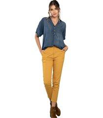 pantalon melbourne amarillo ragged pf51310072