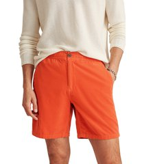 men's bonobos drawstring corduroy club shorts, size xx-large - orange