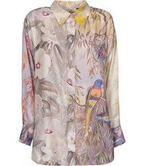 zimmermann botanica oversize shirt