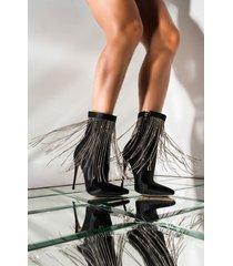 akira azalea wang hanging down low stiletto heel bootie