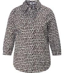 blouse 3/4-mouwen van anna aura wit
