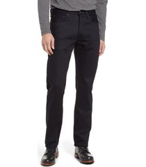 filson bullbuck double front jeans, size 40 x 34 in raw black at nordstrom
