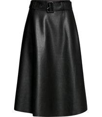 nila skirt knälång kjol svart twist & tango