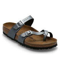 mayari shoes summer shoes flat sandals grå birkenstock