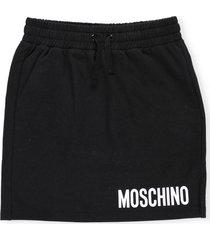moschino skirt with logo print